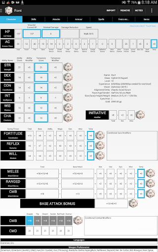 【免費娛樂App】PCGen Character Sheet Reader-APP點子