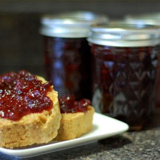Spiced Cranberry Cabernet Jam.