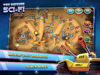 Toy Defense 4: Sci-Fi - screenshot thumbnail