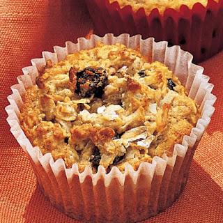 Oatmeal-Raisin Cookie Cupcakes.
