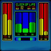 Clock of Life (blue sun) LWP