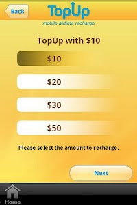 TopUp screenshot 2