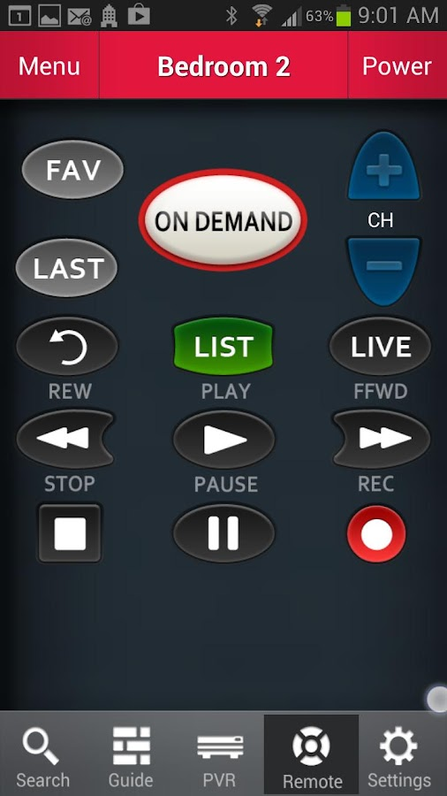 Anyplace TV Home Mobile (ON) - screenshot