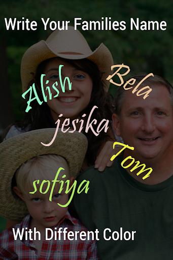 Family Name Live Wallpaper