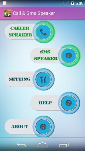 Call SMS Speaker