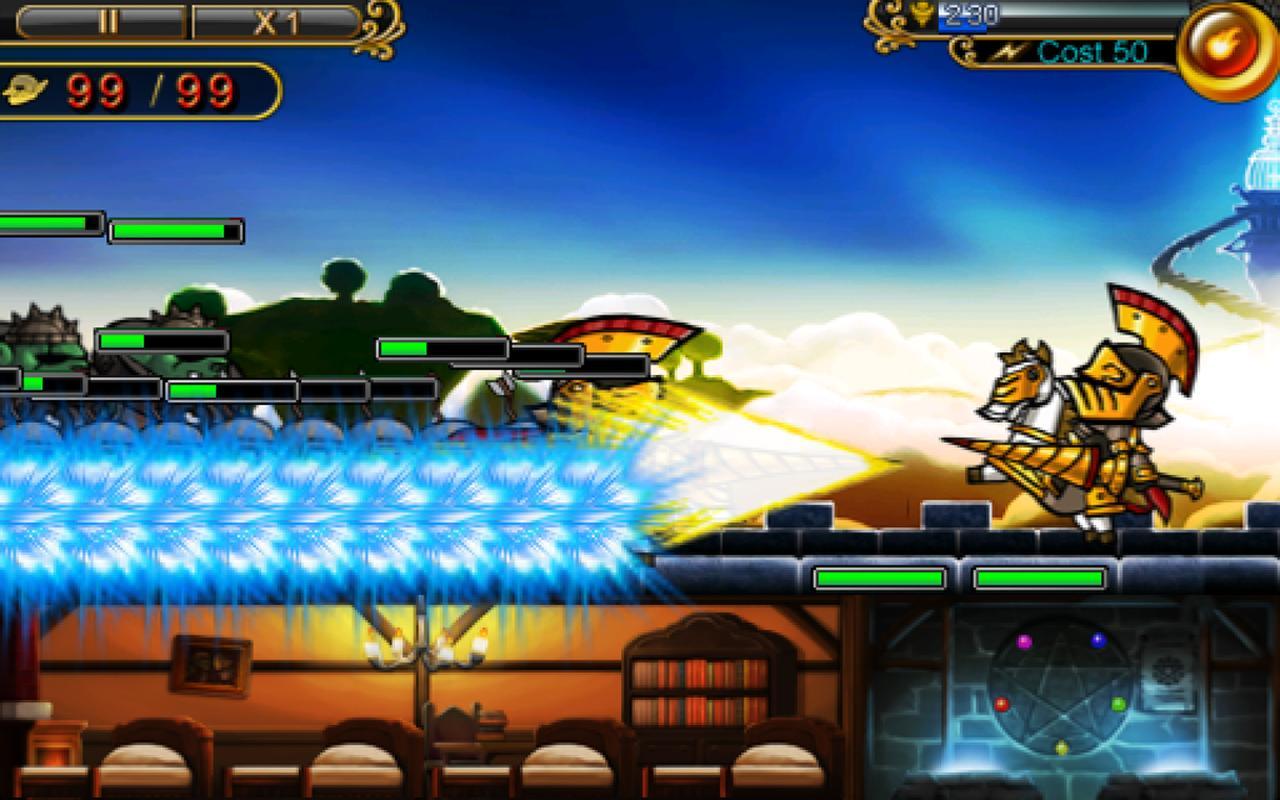 Defender of Diosa- screenshot