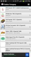 Screenshot of Radios Paraguay