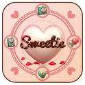 Sweetie GO Locker Theme icon