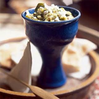 Ajlouk Qura'a (Mashed-Zucchini Salad)