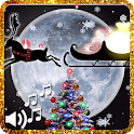 Weihnacht Live Wallpaper Santa icon