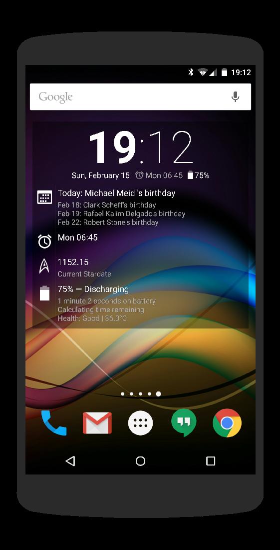 Chronus: Home & Lock Widgets Screenshot 3