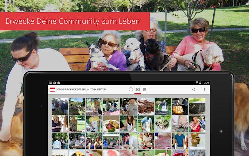 Meetup – Finde Leute wie Du! – Miniaturansicht des Screenshots