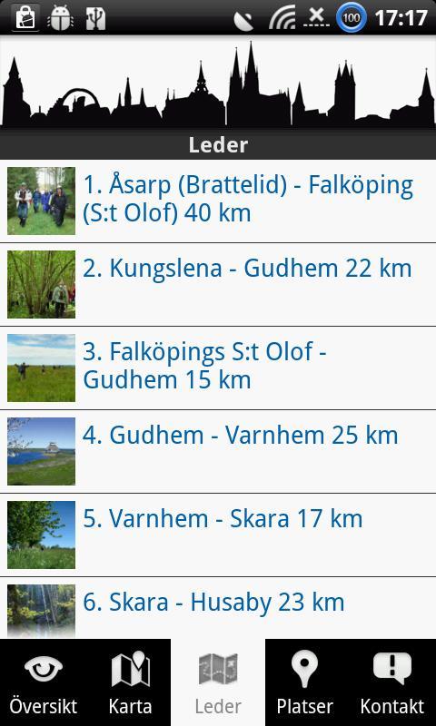 Pilgrim Skaraborg- screenshot