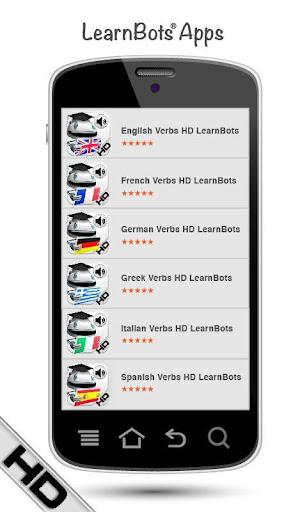 玩教育App|カタロニア語の動詞を学ぶ HD LearnBots免費|APP試玩