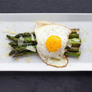 Asparagus + Fried Egg + Parmesan.
