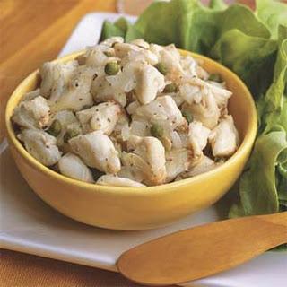 Lump Blue Crab Salad Wraps.