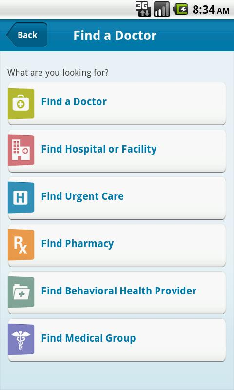 Empire BlueCross BlueShield - screenshot