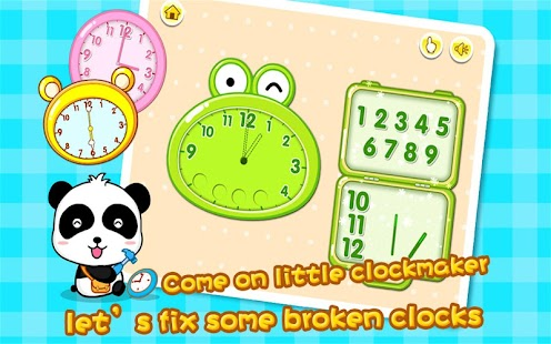 Babys Learning Clock - BabyBus - screenshot thumbnail