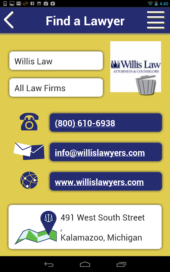 Ask a Lawyer: Legal Help- screenshot