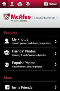 McAfee Social Protection Beta - screenshot thumbnail