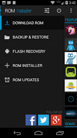 ROM Installer Screenshot 2