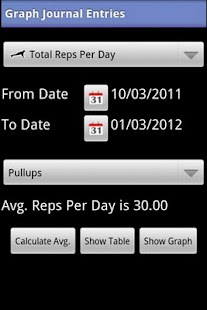 My Workout Journal - screenshot thumbnail