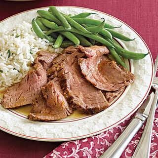 Thai-Marinated Broiled Flank Steak.