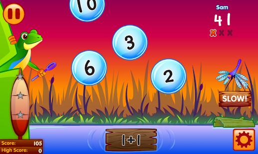 Bubble Pop Math Challenge 1-2 - screenshot thumbnail