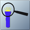 Magnifying Flashlight icon