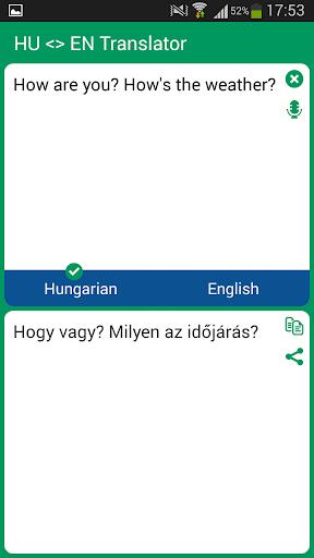 Hungarian English Translator