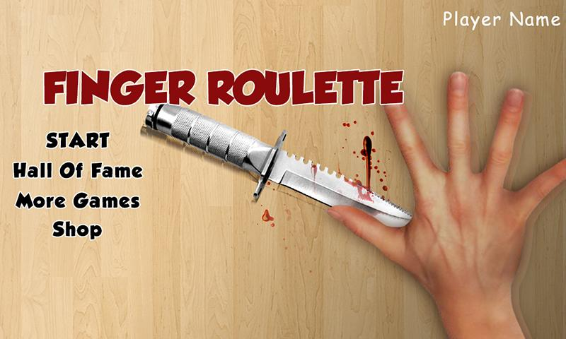 Finger Roulette (Knife Game) - screenshot