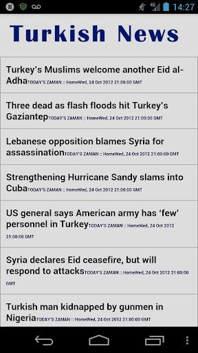 Turkish News in English