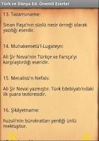 Screenshot of LYS Önemli Eserler Cep Kitabı