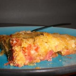 Rhubarb Cake II