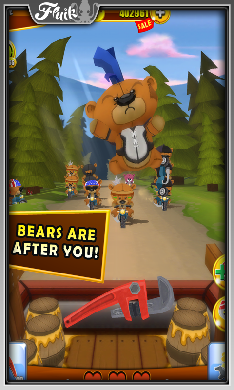 Grumpy Bears - screenshot