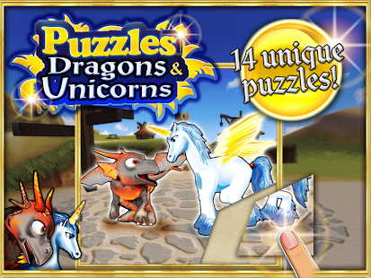 Puzzles Dragons & Unicorns HD- screenshot thumbnail