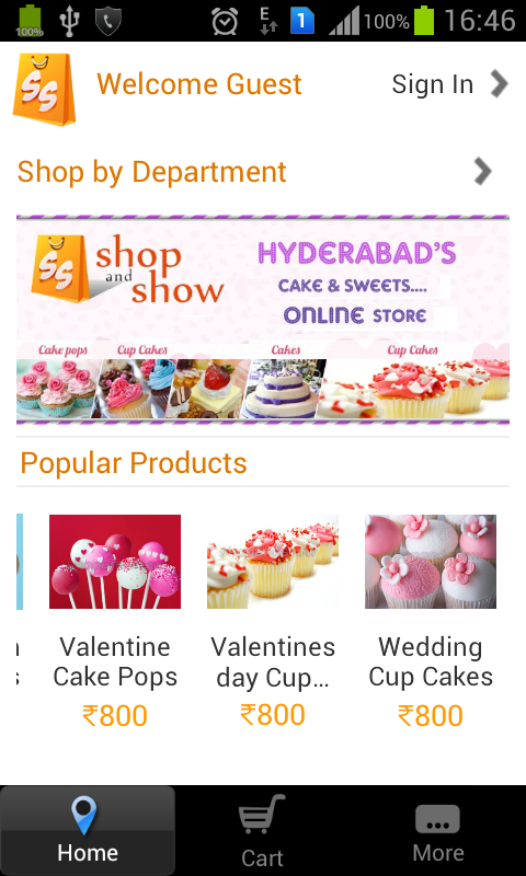 ShopAndShow- screenshot