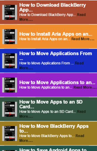 Move app to SD card Tips