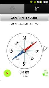 GeoCompass - náhled