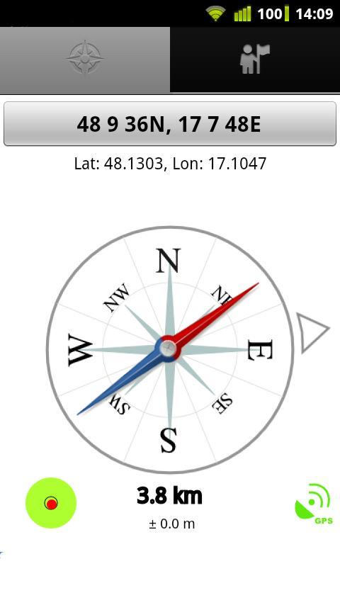 GeoCompass – Screenshot