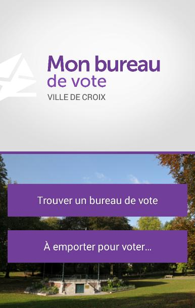 mon bureau de vote croix android apps on google play