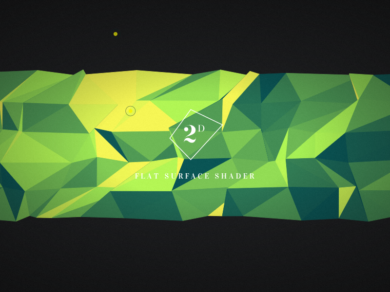 Flat Surface Shader by Matthew Wagerfield | Experiments with Google