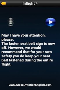 Flight Attendant Announcement- screenshot thumbnail