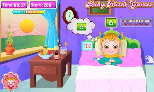 Baby Hazel Goes Sick - náhled