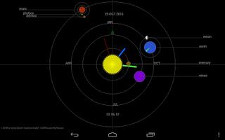 Screenshot of PRO Astro Clock LWP