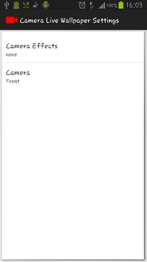 Camera Live wallpaper Pro