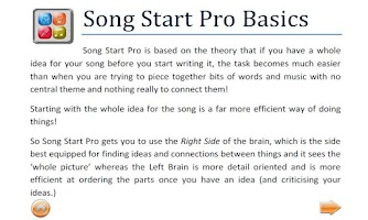 Screenshot of Song Start Pro