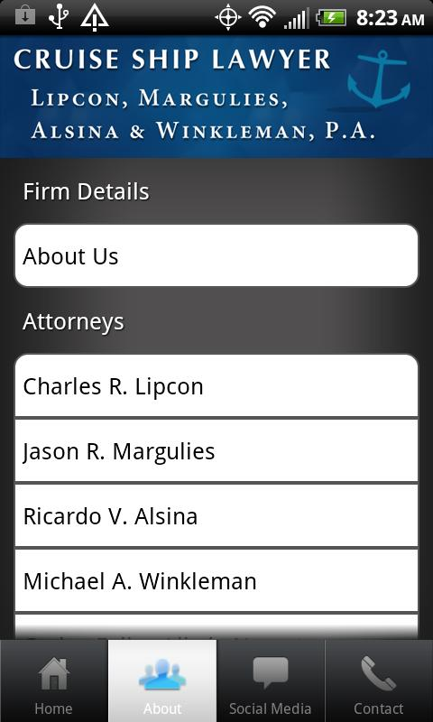 Cruise Ship Lawyer- screenshot