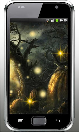 Magic Halloween live wallpaper