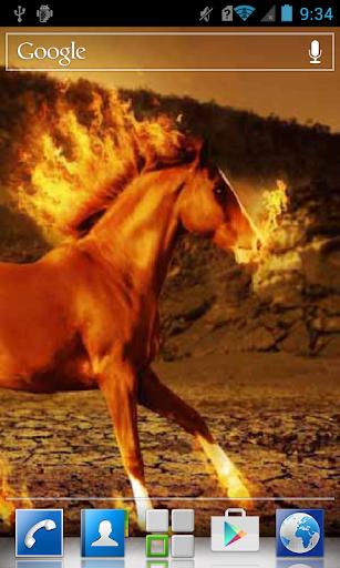 Fire breathing horse LWP